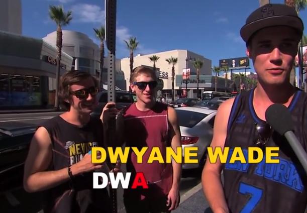 Dwyane Wade Spelling Bee