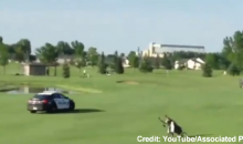 Police Chase Cuts Through Fargo Golf Course in Cinematic Fashion (Video)