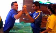 Deaf and Blind Boy 'Watches' the World Cup Thanks to Some Clever and Kind Friends (Video)