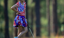 11-Year-Old Lucy Li Hits 78 at Women's US Open Dressed Like Uncle Sam (Pics)
