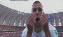 "Algeria's Islam Slimani Does Johnny Manziel ""Money"" Gesture Following Goal vs. South Korea at World Cup (Video)"