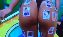 Naturally, A Brazilian World Cup Show Features a Girl In a Thong Covered in Soccer Stickers (Video)
