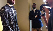 Number One NBA Draft Pick Andrew Wiggins Wears a Floral Tuxedo (Photo and Tweet)