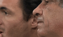 The Biggest Story of the 2014 World Cup Is Probably The Greek Coach's Nose Hair (Photos)