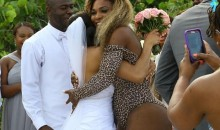 Serena Williams Crashes Wedding in Leopard Swimsuit (Photos)