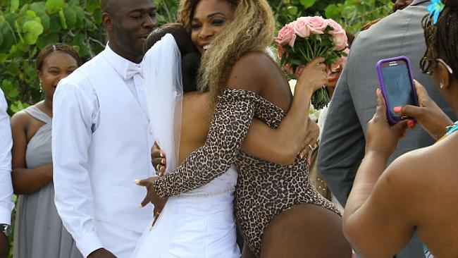 Serena Williams wedding crasher 1