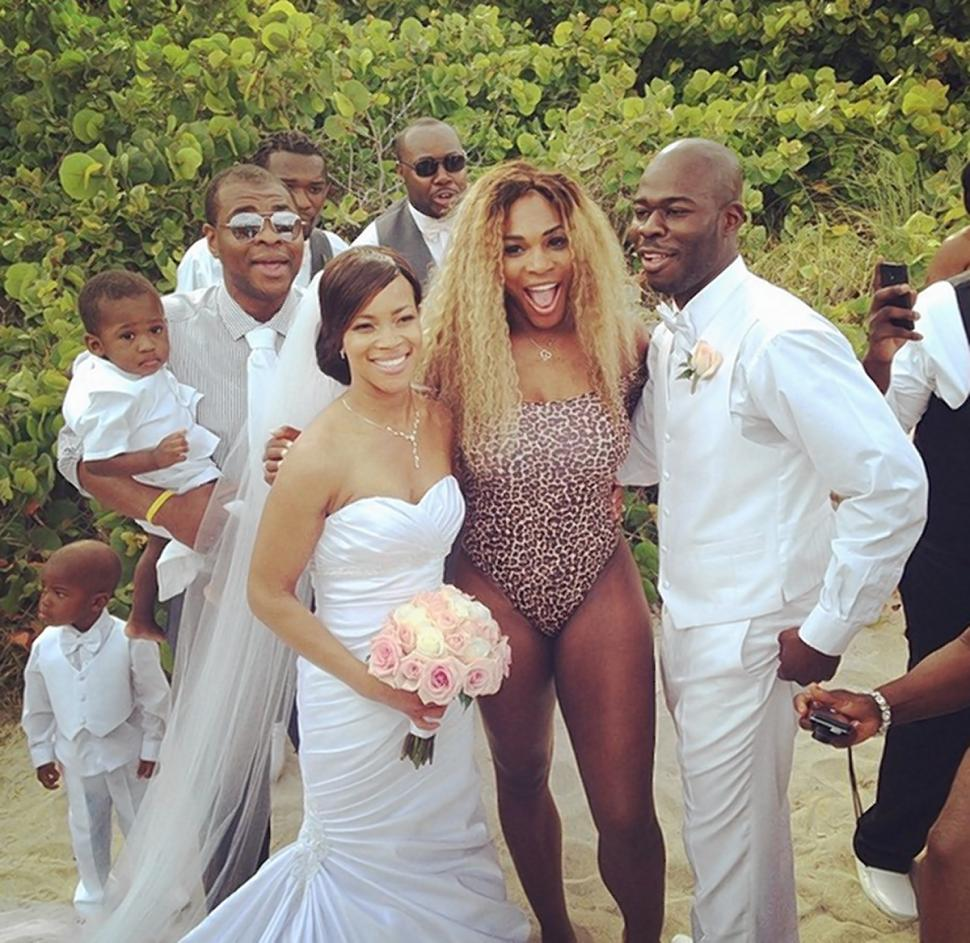 Serena Williams wedding crasher 2