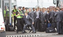 Comedian Simon Brodkin Stopped by Police From Boarding England Soccer Squad's Plane