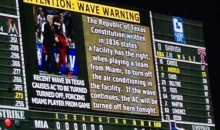 The Texas Rangers are Trying to Stop the Wave (Video)