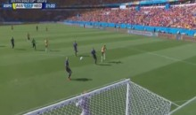 Australia's Tim Cahill Just Scored This Ridiculous Golazo on a Volley vs. Holland (Video)