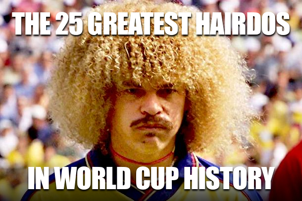 best world cup hairdos