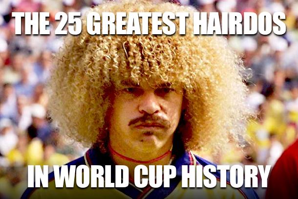 best world cup hairdos