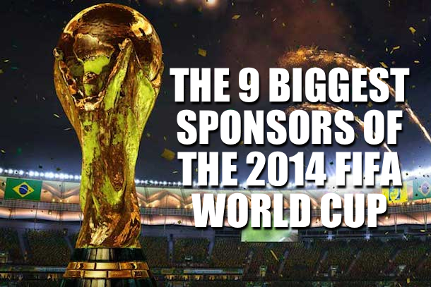 biggest sponsors fifa world cup 2014