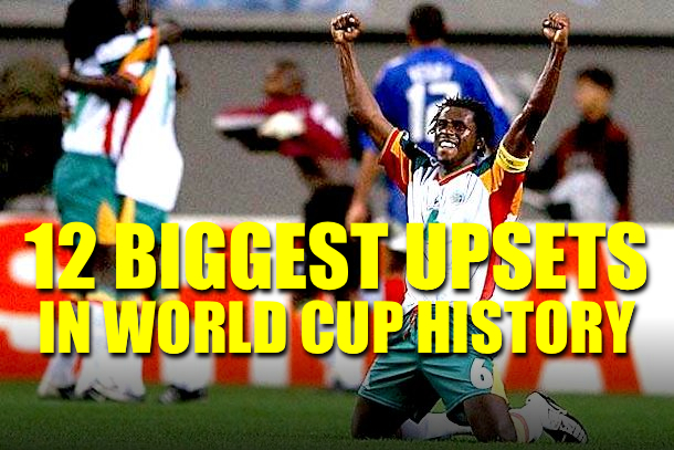 biggest world cup upsets