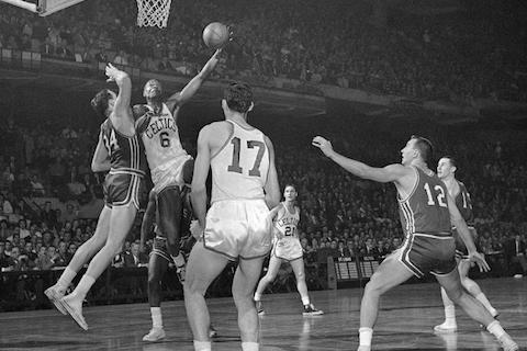 celtics hawks 1961 - nba finals rematches