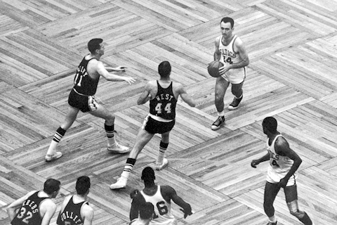 celtics lakers 1962 game 7 overtime - nba finals rematches