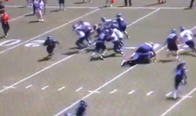 Football in June! Seahawks Running Back Gives Us the Most Amazing Run of OTAs (Video)