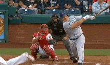 Bartolo Colon Crushes Ball 150 Feet Foul, But His Teammates Were Impressed (GIFs)