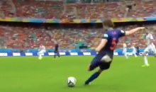 Here's a New Angle of Robin van Persie's Stunning Header vs. Spain at the 2014 FIFA World Cup (Video)