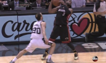 Let's All Make Fun of Dwyane Wade's Ridiculous Game 2 Flop (Video)