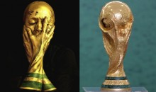 London Artist Transforms Herself into World Cup Trophy for Amazing 'World Cup Selfie' (Pics)