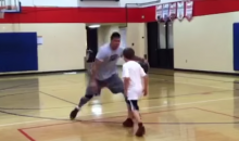 Let's All Watch This Grown Man Destroy a 10-Year-Old Kid in One-on-One Hoops (Video)