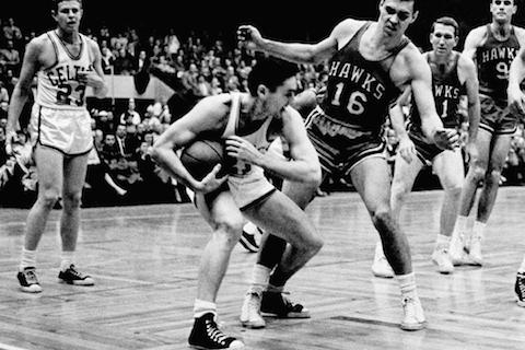 hawks celtics 1958 - nba finals rematches