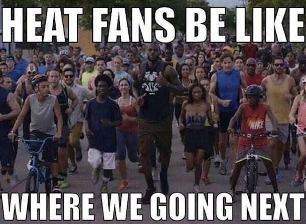 heat fans lebron opt out