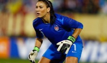 Hope Solo Taunted With Boos & Zika Virus Chants By Brazilian Fans (Video)