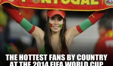 The Hottest Countries at the 2014 FIFA World Cup Brazil