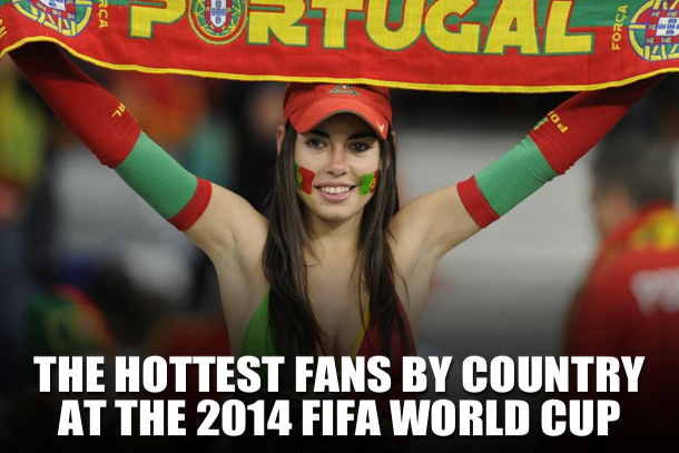 hottest world cup fans