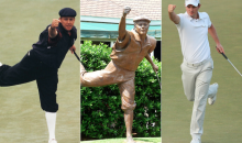 Justin Rose Pays Tribute to Payne Stewart by Recreating His Iconic U.S. Open Victory Celebration (Video)