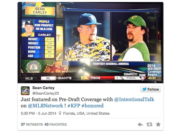 kenny powers doppelganger tweet