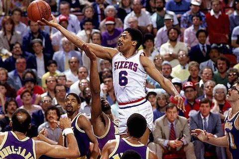 lakers 76ers 1983 dr j - nba finals rematches