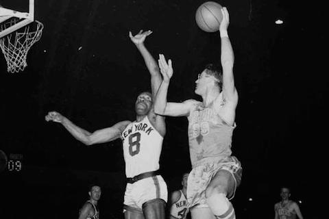 lakers knicks 1953 - nba finals rematches