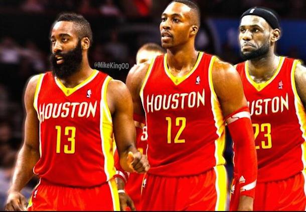 lebron houston rockets