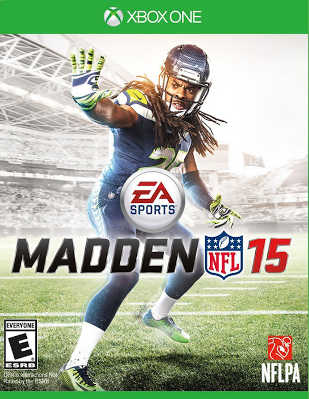 madden 15 cover richard sherman