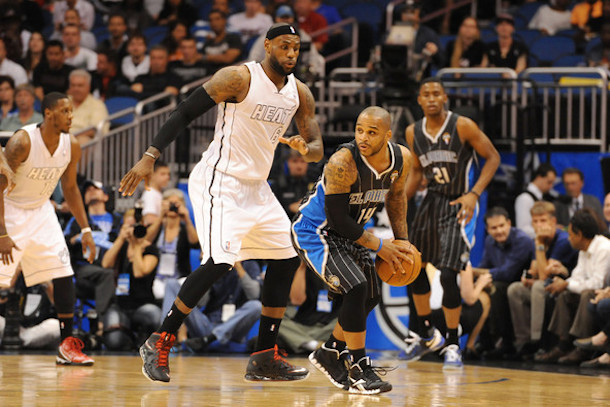 magic lebron jameer nelson - lebron free agency