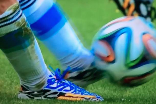 messi goal free kick 2014 world cup nigeria