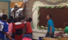 Let's Watch Elementary School Kids Freak Out When Michael Jordan Just Walks Into Their Classroom (Video)