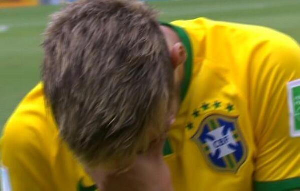 neymar frosted tips