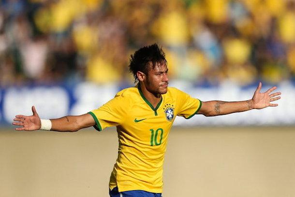 neymar vs panama friendly
