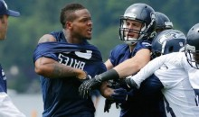 Richard Sherman and Phil Bates Duke It Out at Seahawks Minicamp (Video)