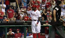 Phillies Fans Give Tony Gwynn Jr a Standing Ovation in First Game Back Since the Passing of His Father (Video)