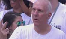 Popovich Being Popovich: Spurs Coach Counts His Championship Rings During Victory Parade (Video)
