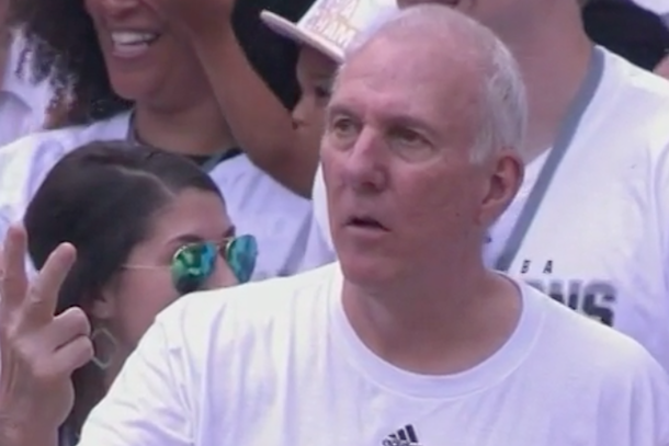 popovich counting his rings