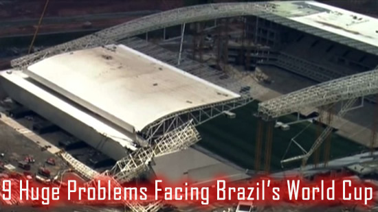 problems facing brazil world cup
