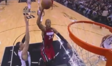 Old Man Ray Allen Actually Dunked a Basketball Last Night (Video)