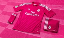 Real Madrid Will Be Sporting Adorable Pink Uniforms Next Season (Photo)