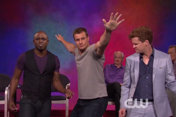 rob gronkowski whose line is it anyway